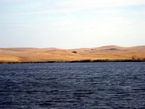 Озеро в степи