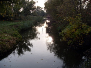 Утро. Река